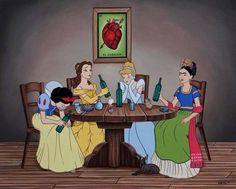Friday princess and Frida Kahlo