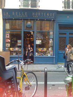 La Hortense Bookshop in Le Marais, Paris. One of my favourite spots in the world.