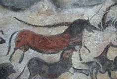 Prehistoric Cave Paintings In Basque