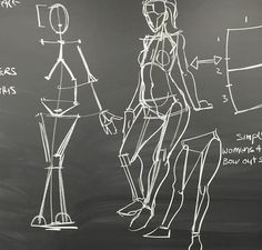 Weston's very basic study of how a human body is created with simple shapes and lines, this could be beneficial to me when attempting perspective and proportion?