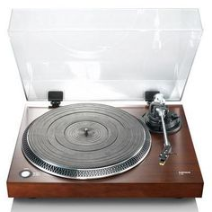 Lenco L-90 Wooden Turntable With USB And Built-In Pre-Amplifier