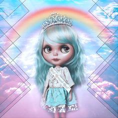 G.Baby OOAK Custom Blythe doll Skye by bebebentley on Etsy