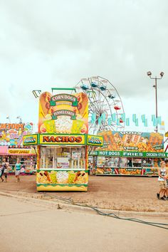 you can hear the music, smell the fair food, see exhibits, ride the excitement~~it`s another world!!