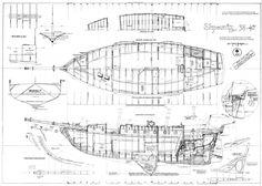 Shpountz 38-40, plans de charpente par Daniel Z. Bombigher
