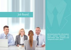 Job board provides you with the latest job opening in the top most companies along with company profile, placement paper, aptitude and interview questions and mock interview.