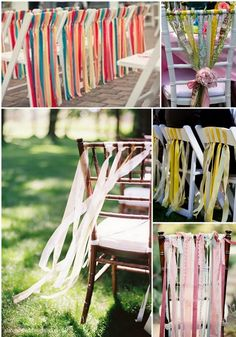 3 Ribbons Alice in Weddingland Chairs Getting creative with your wedding chairs Wedding Blog