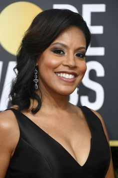 Sheinelle Jones Photos - TV personality Sheinelle Jones attends The Annual Golden Globe Awards at The Beverly Hilton Hotel on January 2018 in Beverly Hills, California. Today Show Cast, L Love U, The Beverly, Beverly Hilton, Female News Anchors, Carson Daly, Hoda Kotb, Keith Urban, Golden Globe Award