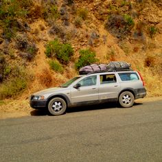 2001 Volvo V70XC aka the wife's ride... Big Sur camping style.