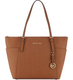 fa649d903871 Michael Kors Jet Set Top Zip Large Tote Saffiano Leather 30f4gttt9l Luggage   fashion  clothing