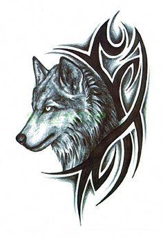 Wolf Tattoo Vorlagen Fur Tatowierungen Mit Wolfen 6