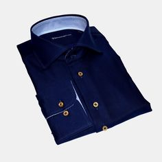 #Sleeve7 #Hemden #Hemd #Navyblue #DressShirt #heavytwill