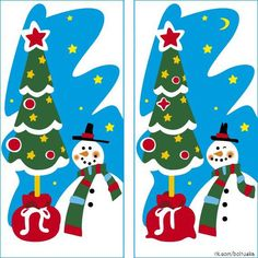 Find out the Differences - Hidden Pictures, Xmas, Christmas Ornaments, Different, Origami, Fairy Tales, Kids Rugs, Seasons, Activities