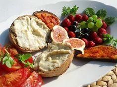 Homeveganer: Gartenfrühstück