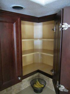 upper corner cabinet kitchen easy reachKitchenPinterest