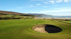 Golf course in Brora, Highlands