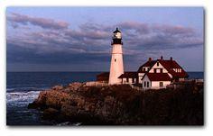 Portland Head Lighthouse  Cape Elizabeth Maine