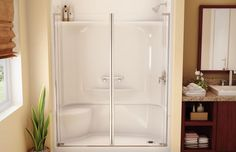 Complete Your Bathroom Shower With Lowes Shower Stall Design 28