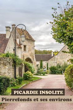 Picardie insolite : Pierrefonds et ses environs Wonderful Places, Beautiful Places, Photos Voyages, France Travel, Travel Pictures, Barcelona Cathedral, Trek, Places To Visit, Beauvais