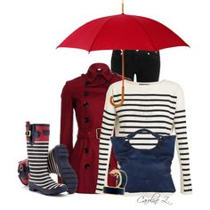 """Open Umbrella"" by carolinez1 on Polyvore"