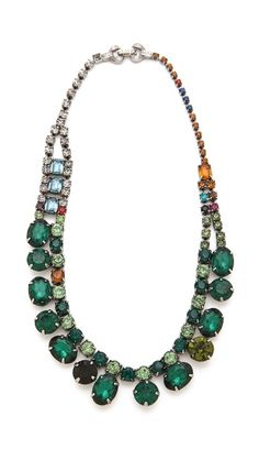TOM BINNS Faux Real Crystal Necklace | SHOPBOP