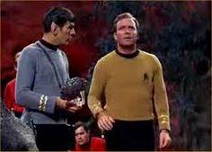 With Spock, his loyal sidekick