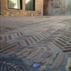 Jewish stamped street in Toledo