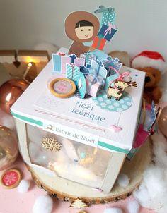 Boîte à explosion Noël - Le scrapauroreblog Cake, Desserts, Explosion Box, Tailgate Desserts, Deserts, Kuchen, Postres, Dessert, Torte