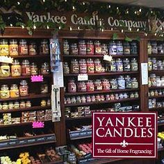 Yankee Candle my favorite!!