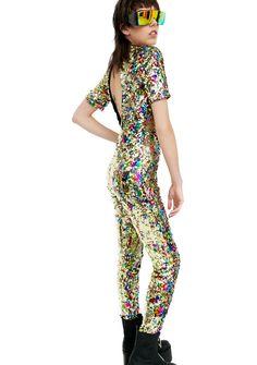 33f01e300d7 Jaded London Rainbow Sequin Jumpsuit Sequin Jumpsuit