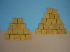Cereal pyramid craft