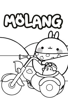 For do-it-yourself recipes, crafts and activities that you can enjoy with everyone in the family, there's Disney Family! Cute Coloring Pages, Printable Coloring Pages, Adult Coloring Pages, Free Coloring, Coloring Sheets, Coloring Books, Animal Crossing Characters, Molang, Drawing Templates