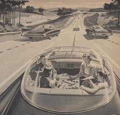 Cars of the future will drive themselves. Building the electric car of the future.
