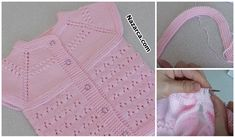 Kolay-yapimli-ajurlu-bebek-yelek-tarifi Baby Knitting Patterns, Hand Knitting, Knitted Baby Clothes, Knit Vest, Baby Vest, Crochet Stitches, Crochet Top, Women, Templates