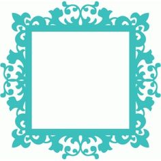 Silhouette Design Store - View Design #55568: decorative flourish vintage frame