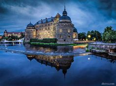Örebro Castle, Sweden.  This is my home town.