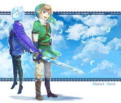 Skyward Sword Link ad Fi - - 風吹く空