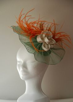 Amore Tocados Floral Spring The Crown, Band, My Love, Spring, Floral, How To Wear, Fashion, Fascinators, Sombreros