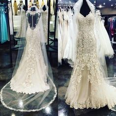 Swooning over this new fabulous @bylillianwest gown  Ladies Don't forget to go to our website and set up a bridal appointment with us we would love to help you find THE ONE  http://ift.tt/2gz8cVt - http://ift.tt/1HQJd81