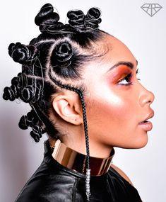 Easiest Way To Create Bantu Knots The Guardian Nigeria News - bantu knots hairstyle Bantu Knot Styles, Bantu Knots, Bantu Knot Hairstyles, Easy Hairstyles, Korean Hairstyles, Natural Afro Hairstyles, African Hairstyles, 3c Natural Hair, Natural Hair Styles