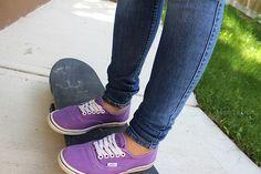 purple vans.♡