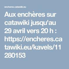 Aux enchères sur catawiki jusqu'au 29 avril vers 20 h : https://encheres.catawiki.eu/kavels/11280153