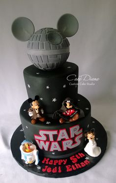 Disney Star Wars cake