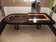 Beautiful World Of Mysteries: Luxury Poker Dining Table