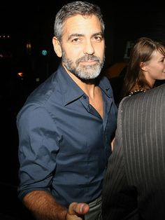 Clooney: the beard