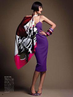 """""""Style has Many Faces,"""" by Daniele Duella & Iango Henzi + Luigi Murenu for Vogue Japan"""