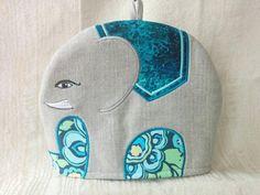 Applique Elephant Tea Cosy/Cozy Pattern | Craftsy