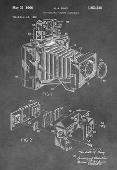 Antique Camera Patent