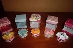 tealight cakes by cake - Cards and Paper Crafts at Splitcoaststampers