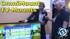 OmniMount HDTV Mount Positions TV to You – CES 2013 | Special Media Feed on Geekazine