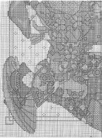 Gallery.ru / Фото #2 - 42 - benji67 Cross Stitching, Cross Stitch Embroidery, Cross Stitch Patterns, Vintage World Maps, Diagram, Asian, Japanese, Chinese Embroidery, Crossstitch